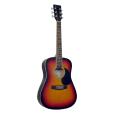 Blue Moon Mini Dreadnought Guitar - Sunburst