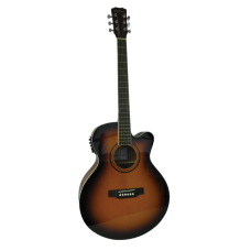 Blue Moon Electro Acoustic Guitar - Sunburst