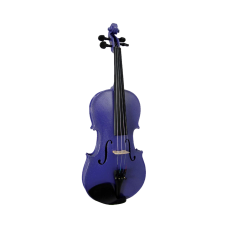 Blue Moon Purple Violin - 3/4 Size