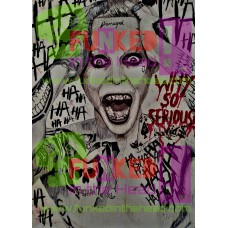Joker Canvas Print - Original Artwork