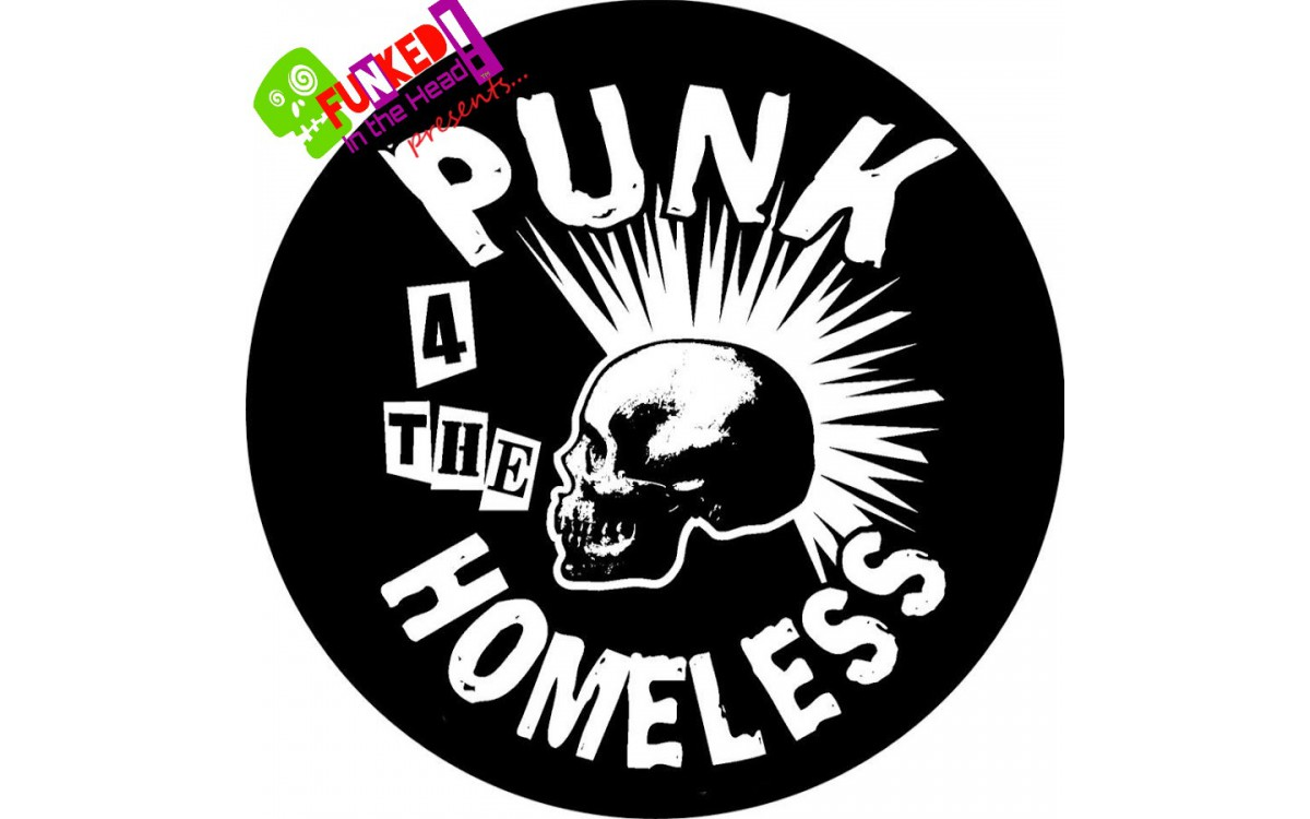 Funked in the Head Podcast with Punk 4 The Homeless - ** INCLUDING FEATURE VIDEO! **